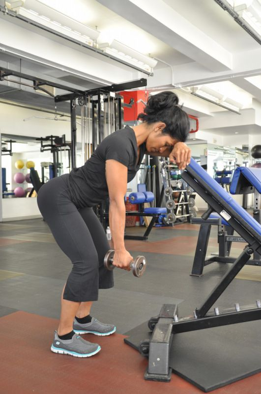 1-Arm 45° Incline DB Trap 3 Lift, Physiqology New York ...