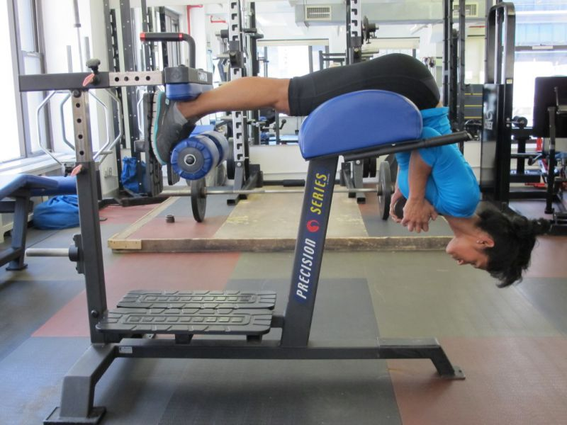 Horizontal-DB-Back-Extension-step-1-running-strength-training-New-York-City-personal-training
