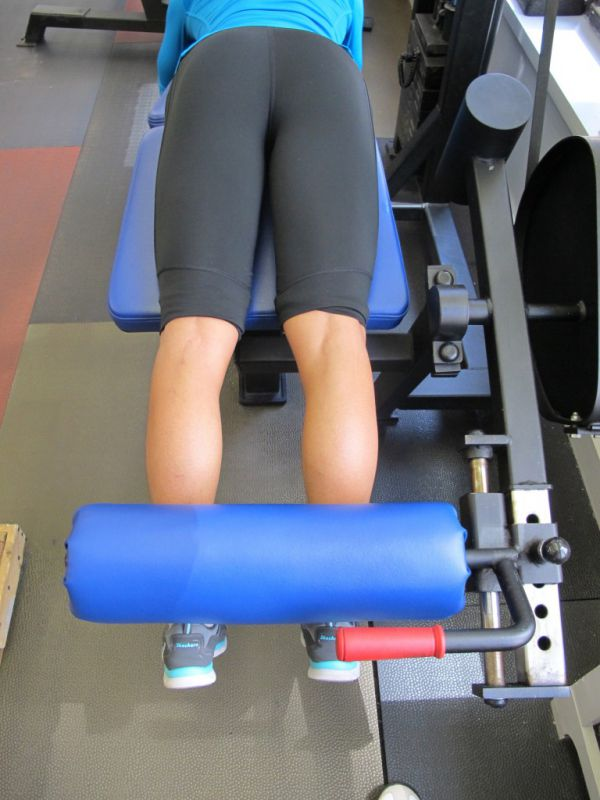 Eccentric Lying Leg Curls, Hips and Toes Neutral - Physiqology