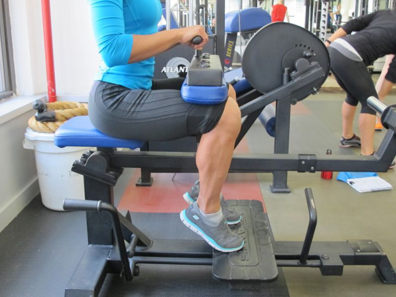 Seated-Calf-Raise-step-2-running-strength-training-New-York-City-personal-training