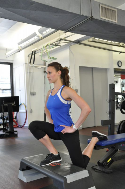 Gorsha Split Squat, step 2