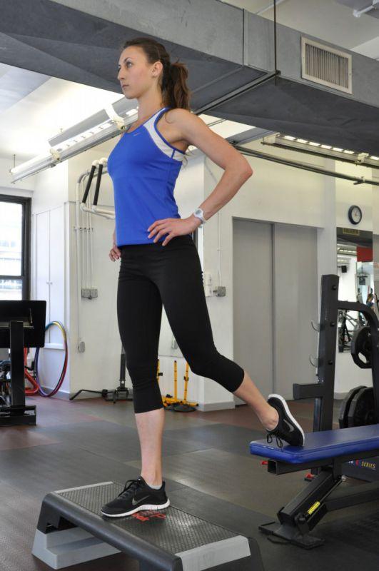 Gorsha Split Squat, step 1